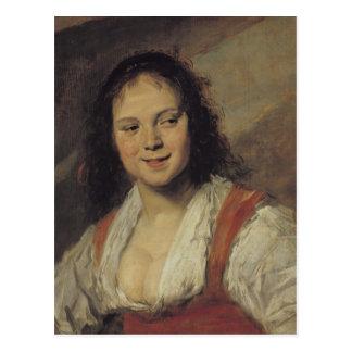 The Gypsy Woman, c.1628-30 Postcard