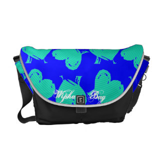 The H 4 Heart  Bag Messenger Bags