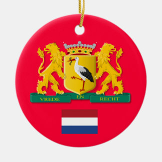 The Hague Netherlands Custom Christmas Ornament