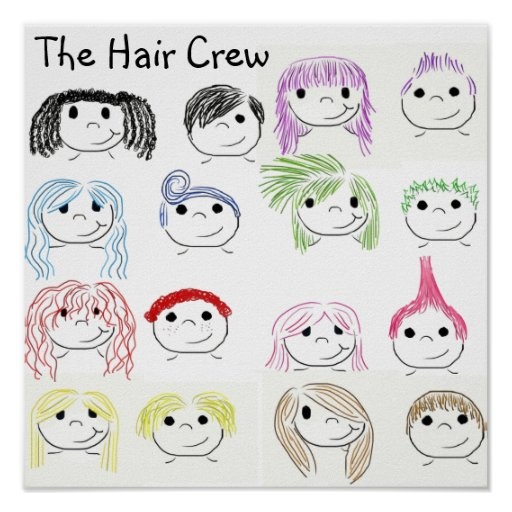 The Hair Crew Posters