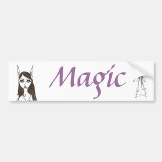 The Hair Fairy Bumper Sticker