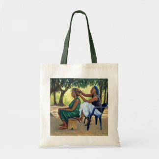 The Hairdresser 2001 Budget Tote Bag