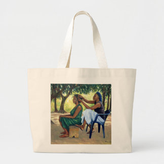 The Hairdresser 2001 Large Tote Bag
