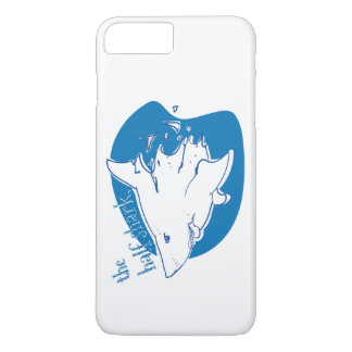 the half shark funny cartoon iPhone 8 plus/7 plus case
