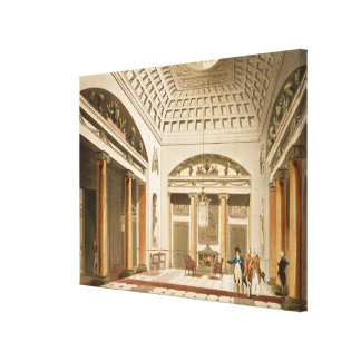 The Hall, Carlton House Canvas Print