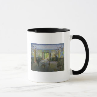 The Hall of the Manor House in Waltershof, 1894 Mug