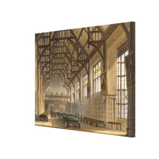 The Hall of Trinity College, Cambridge, from 'The Canvas Print