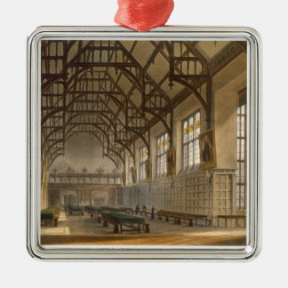 The Hall of Trinity College, Cambridge, from 'The Christmas Ornament