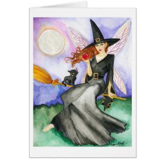 The Halloween Fairy Card