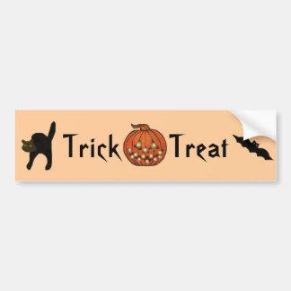 The Halloween Moon Bumper Sticker