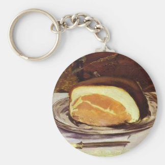 The Ham by Edward Manet Key Ring