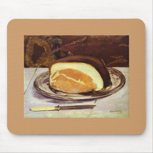 The Ham by Edward Manet Mousepads