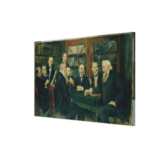 The Hamburg Convention of Professors, 1906 Canvas Print
