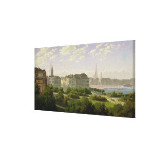 The Hamburg Kunsthalle Canvas Print
