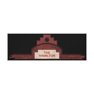 the hamilton building canvas print