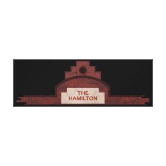 the hamilton building canvas print