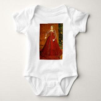 The Hampden Portrait of Elizabeth I of England Baby Bodysuit