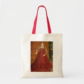 "The ""Hampden"" portrait of Elizabeth I of England Budget Tote Bag"
