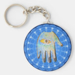 The Hamsa Hand God Evil Eye forprotection Keychains