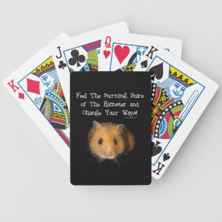 The Hamster Bicycle Playing Cards