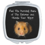 The Hamster Compact Mirror