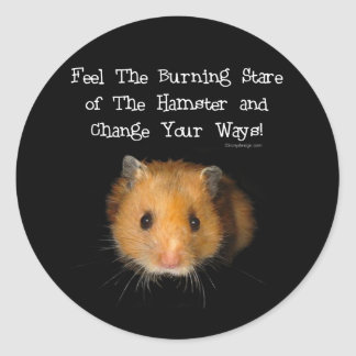 The Hamster Round Sticker