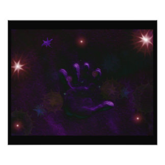 The Hand of God Photo Print Art