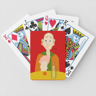 The Hand That Was Dealt Bicycle Poker Cards