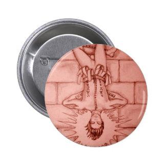 The Hanged Man Tarot Card 6 Cm Round Badge