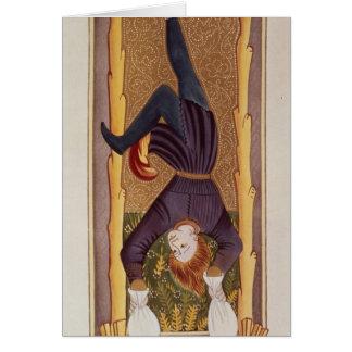 The Hanged Man, tarot card, French Card