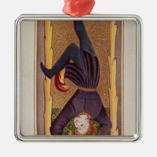 The Hanged Man, tarot card, French Christmas Ornament