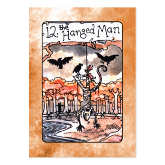 The Hanged Man Tarot Card Pack Of Chubby Business Cards