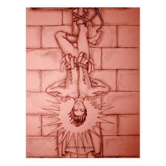 The Hanged Man Tarot Card Postcard