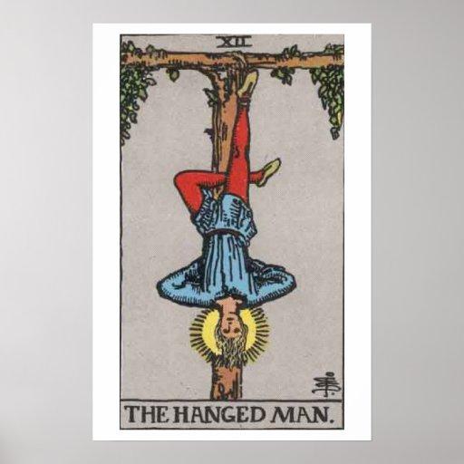 The Hanged Man Tarot Card Poster