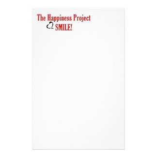 The Happiness Project: Smile! Custom Stationery