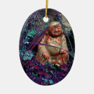 the happy buddah christmas ornament