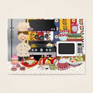 The Happy Chef / Caterer  - SRF Business Card