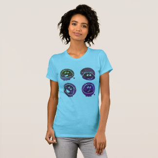 The Happy cute Hippo t-shirt MINT