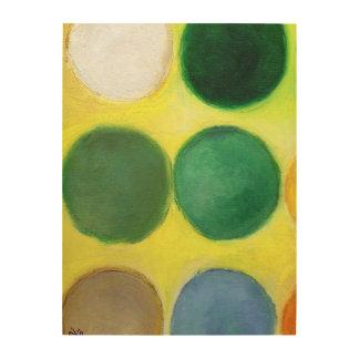 The Happy Dots 2 2014 Wood Prints