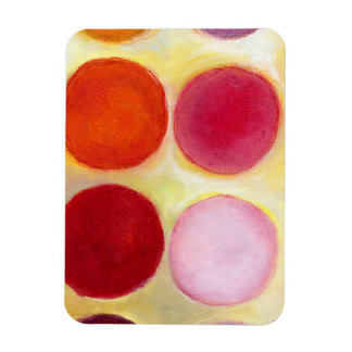 The Happy Dots 6 2014 Rectangular Photo Magnet