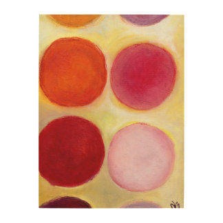 The Happy Dots 6 2014 Wood Prints