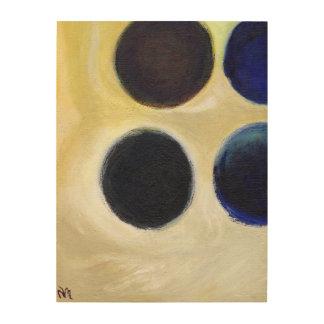 The Happy Dots 9 2014 Wood Prints