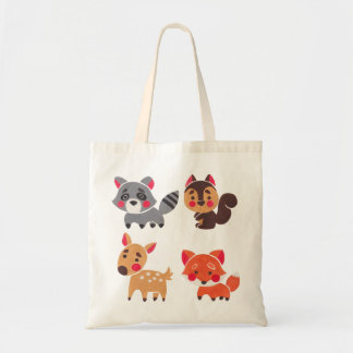 The Happy Forest Friend Tote Bag