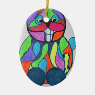 The Happy Hare Christmas Ornament