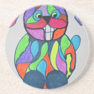 The Happy Hare Coaster