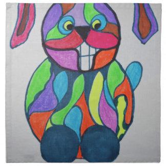 The Happy Hare Napkin