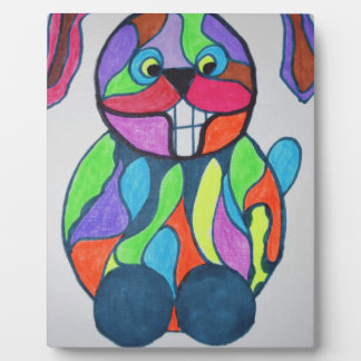 The Happy Hare Plaque