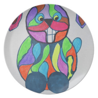 The Happy Hare Plate