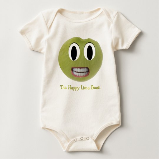 The Happy Lima Bean Kids Clothes Baby Bodysuit