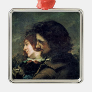 The Happy Lovers, 1844 Christmas Ornament